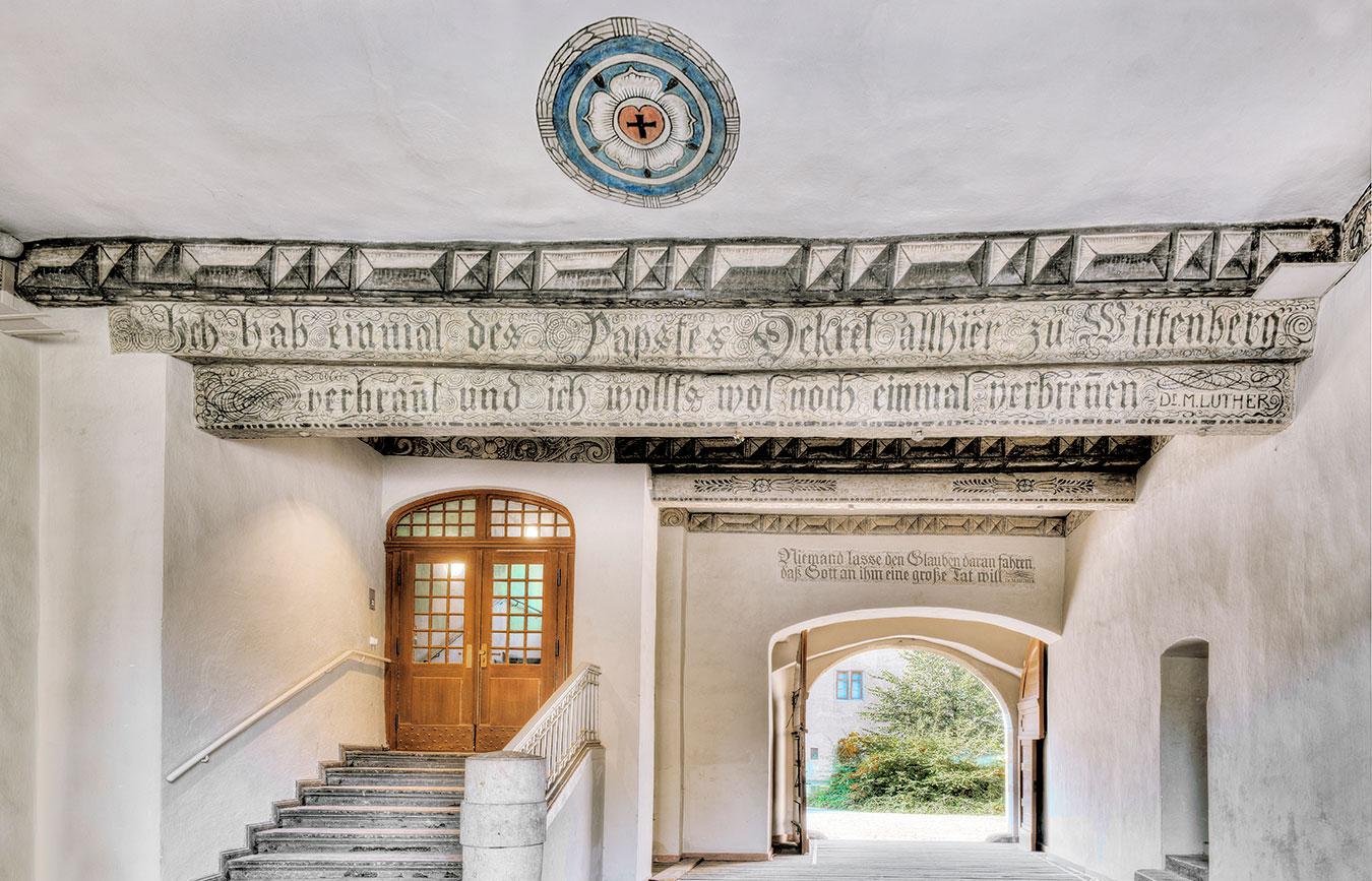 Collegium Augusteum. Passage Lutherhof