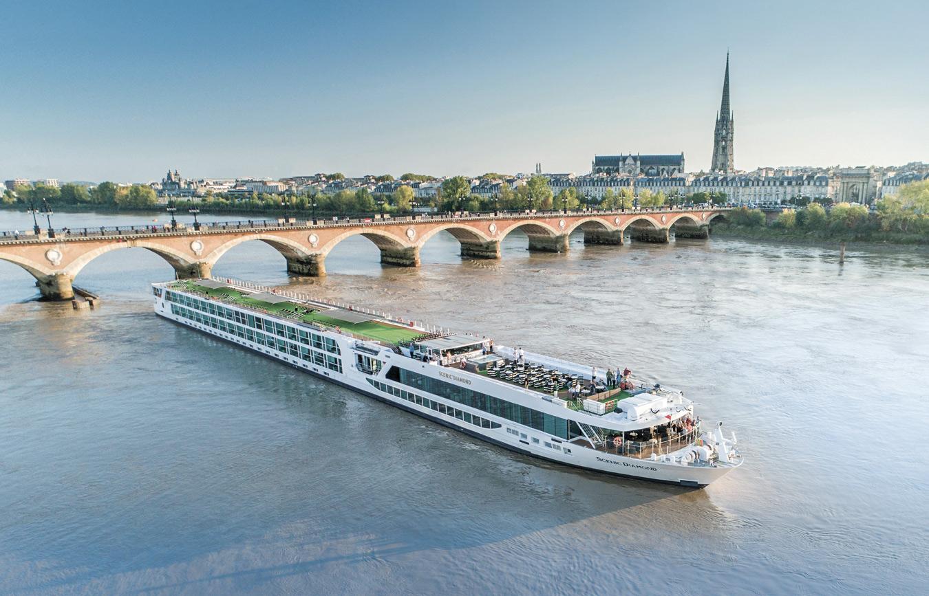 Service für Flusskreuzfahrer